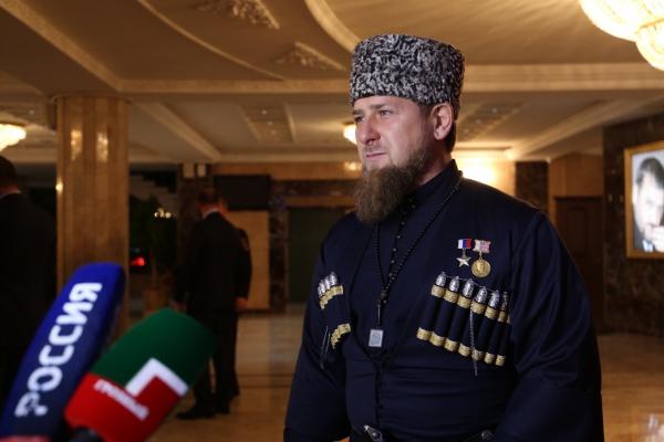 Р. Кадыров ответил на вопросы журналистов