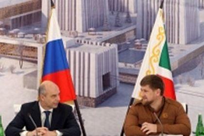 Рамзан Кадыров встретился с министром финансов России Антоном Силуановым