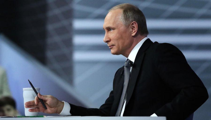Песков сказал, как Путин готовится кпрямой линии