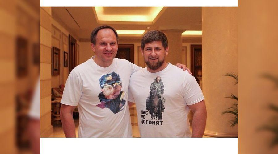 Рамзан Кадыров поздравил Льва Кузнецова с днем рождения