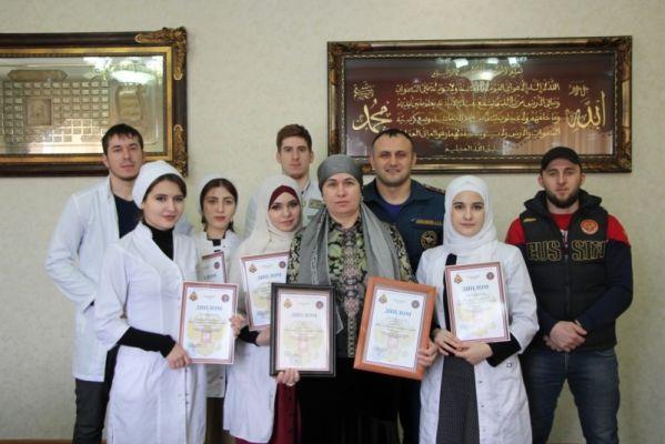 В Грозном прошло чествование победителей соревнований «Человеческий фактор»