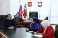 Рабочая встреча Анзора Ирисханова с Кантой Ибрагимовым
