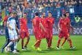Болельщики сорвали матч Черногория — Россия
