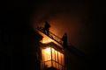 Удар молнии и неосторожное обращение с огнем могли стать причиной пожара в пятиэтажке в Грозном