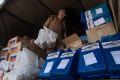 Российские военные доставили населению Сирии очередную партию гуманитарной помощи