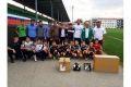 Футболисты «Терека» посетили юных игроков