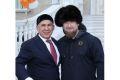 Р. Кадыров поздравил Р. Минниханова с Днем Республики Татарстан