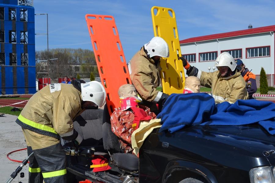 Чеченские пожарные взяли «серебро» на северокавказских соревнованиях