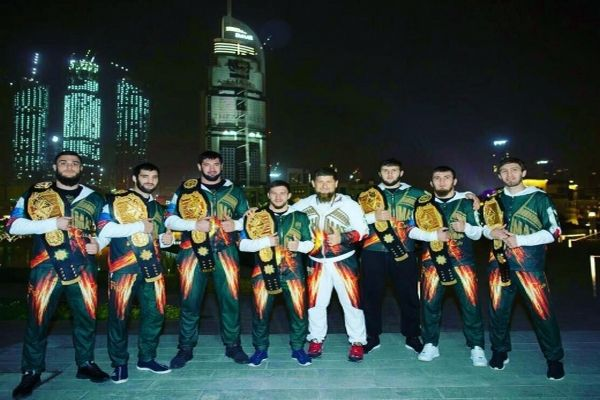 Глава Чечни отметил достижения чеченских бойцов