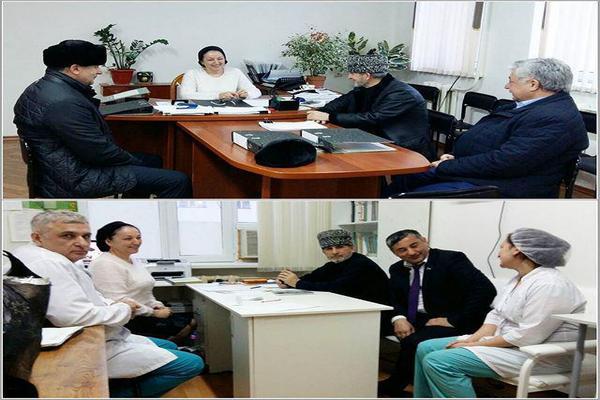 Чеченские депутаты проинспектировали Центральную районную больницу в Грозном