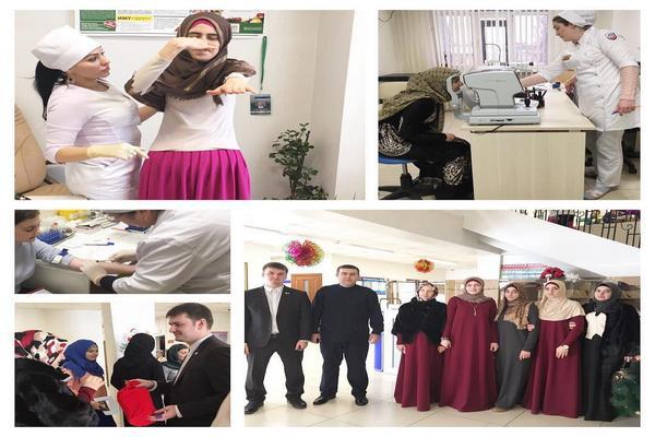 В Грозном прошла благотворительная акция для детей из малоимущих семей