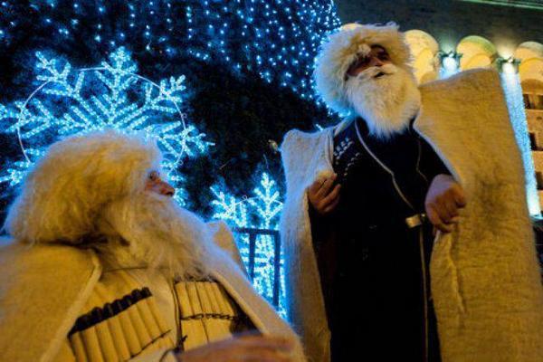 Новый год по-кавказски