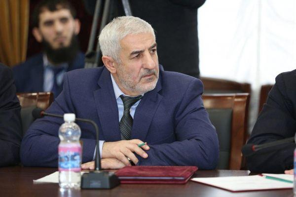 Глава ЧР встретился с новым руководителем администрации Гудермесского района