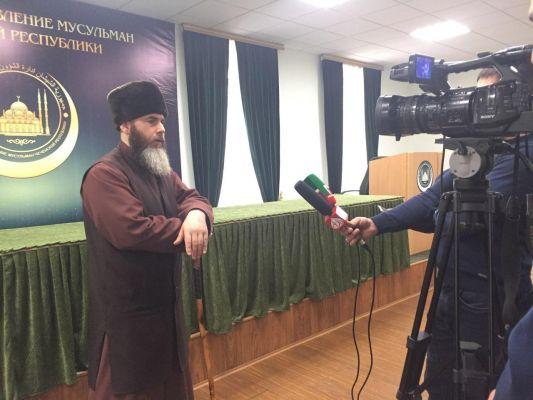 Муфтий ЧР дал интервью об итогах поездки в Сирийскую Республику
