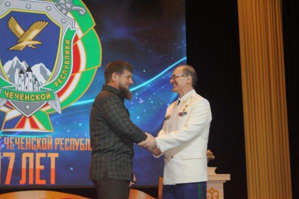 Рамзан Кадыров поздравил Прокуратуру ЧР с 17-летием со дня основания