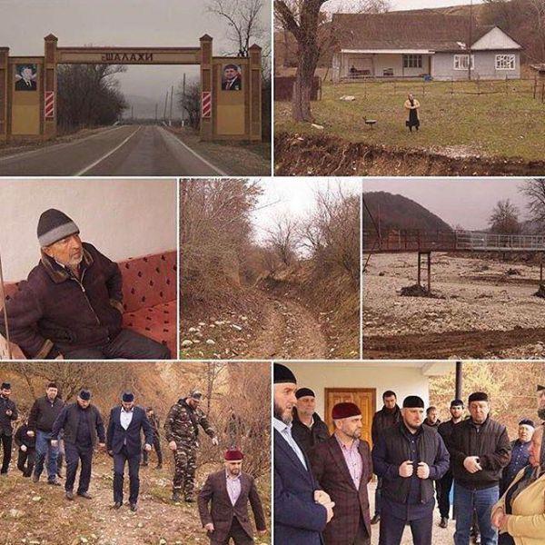 В селе Шалажи провели инспекционную проверку