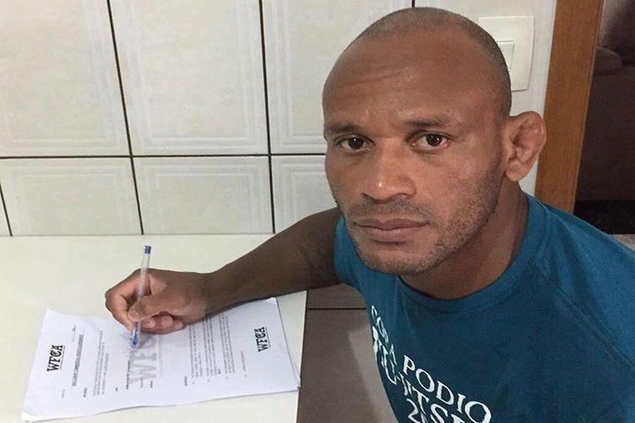 Бойцовский клуба «Ахмат» подписал контракт с Делсоном Хелено