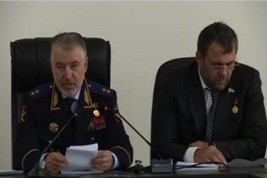 В Грозном подвели итоги оперативно-служебной деятельности УВМ МВД по ЧР за I квартал 2017 года