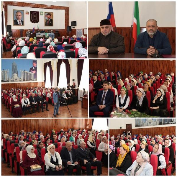 В Шали поздравили учителей чеченского языка