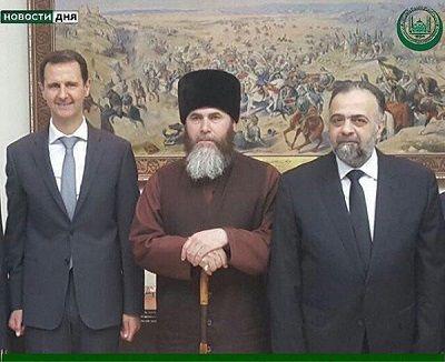 Кадыров раскрыл содержание встречи муфтия Чечни сАсадом