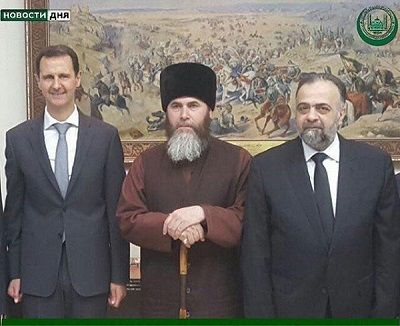Муфтий Чечни встретился сБашаром Асадом