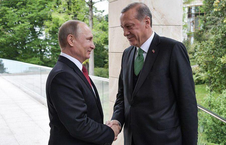 Путин: «Отношения РФ иТурции восстанавливаются вполном объеме»