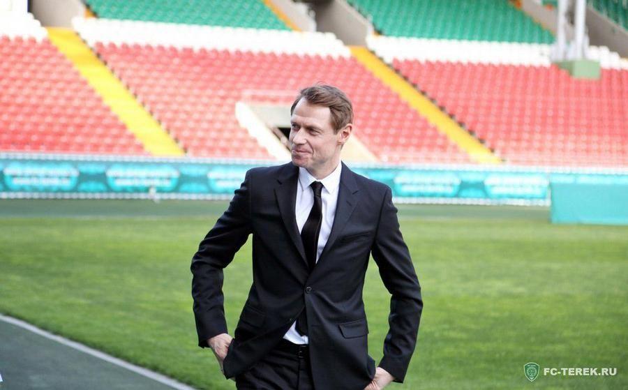 Первое интервью  в роли главного тренера «Терек»: Нужно поднимать уровень футбола в России и в республике