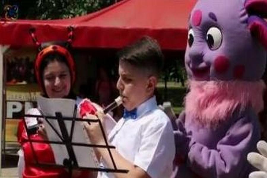 В Грозном прошло благотворительное мероприятие с участием детей