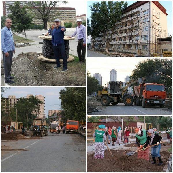 Центральную улицу в Ленинском районе Грозного ждут большие перемены