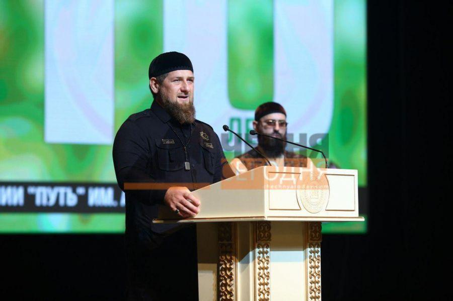 Р. Кадыров принял участие в праздновании десятилетия ТРК