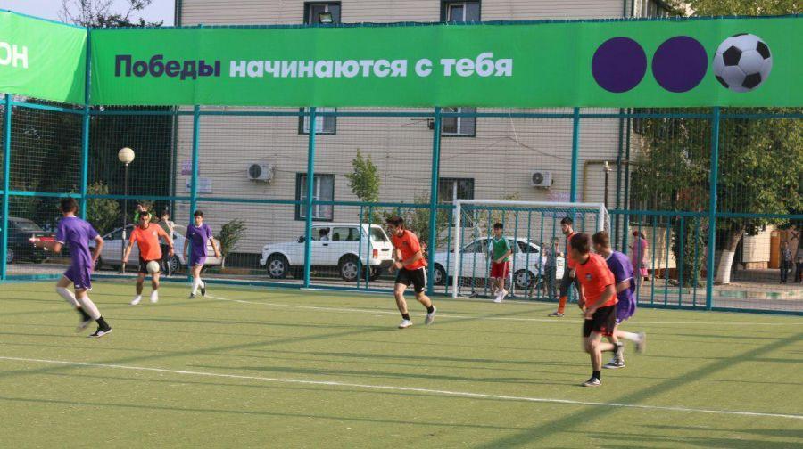 «Мегафон» развивает детский футбол в Чеченской Республике (+видео)