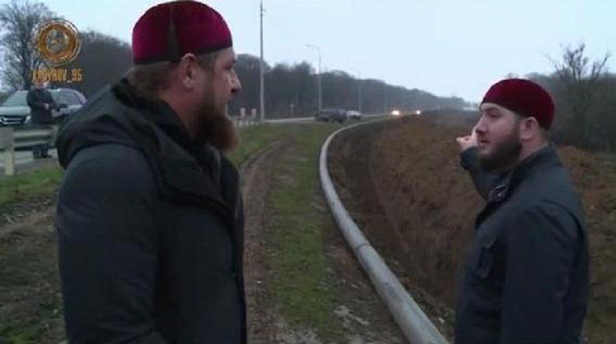 Глава Чечни проинспектировал ход работ по прокладке магистральных водопроводов в Курчалоевском и Гудермесском районах