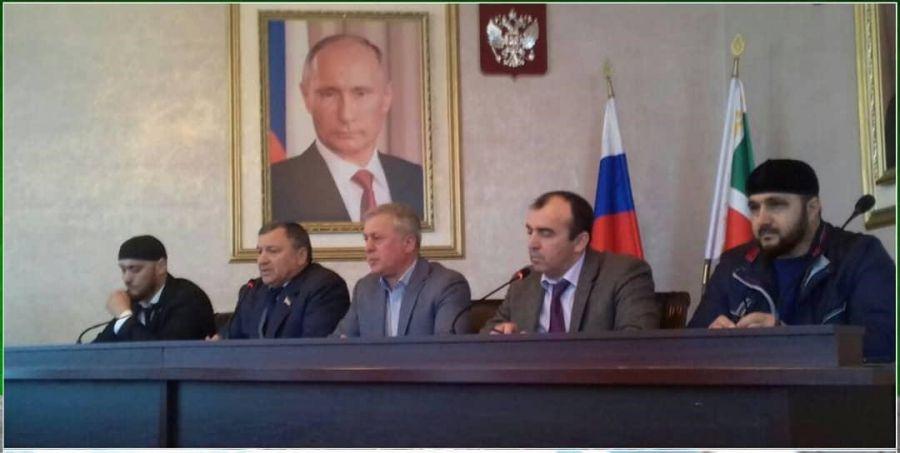 В Грозненском районе прошло совещание по вопросам землепользования
