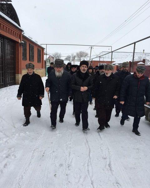 В Чечне прошел обряд примирения пострадавших и виновника ДТП