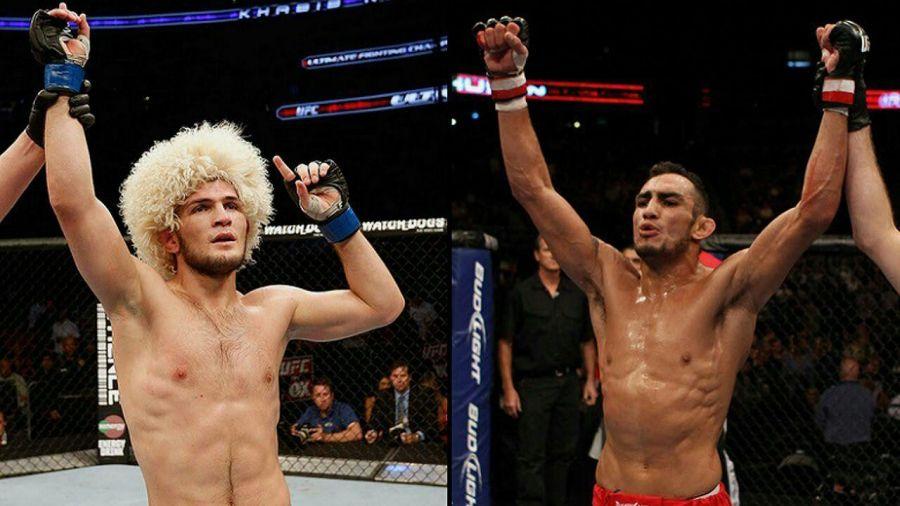 Весной поклонники UFC могут увидеть долгожданный бой между Фергюсоном и Нурмагомедовым