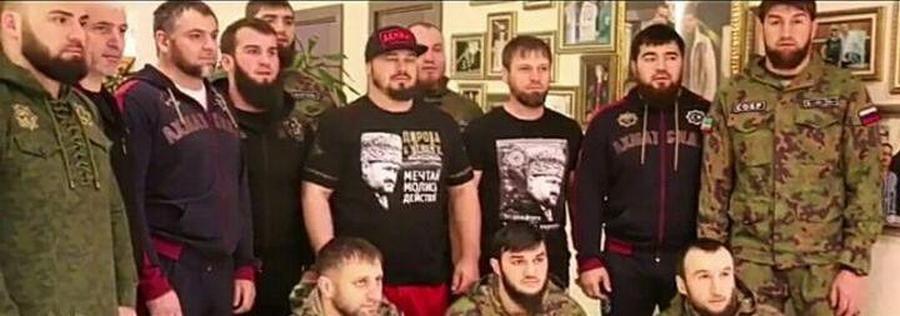 Абузайд Висмурадов вместе с командирами элитных подразделений Чечни принял участие в эстафете #ВыборЧемпионов180318