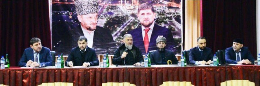 Высокопоставленные чиновники встретились с жителями Веденского района в преддверии выборов