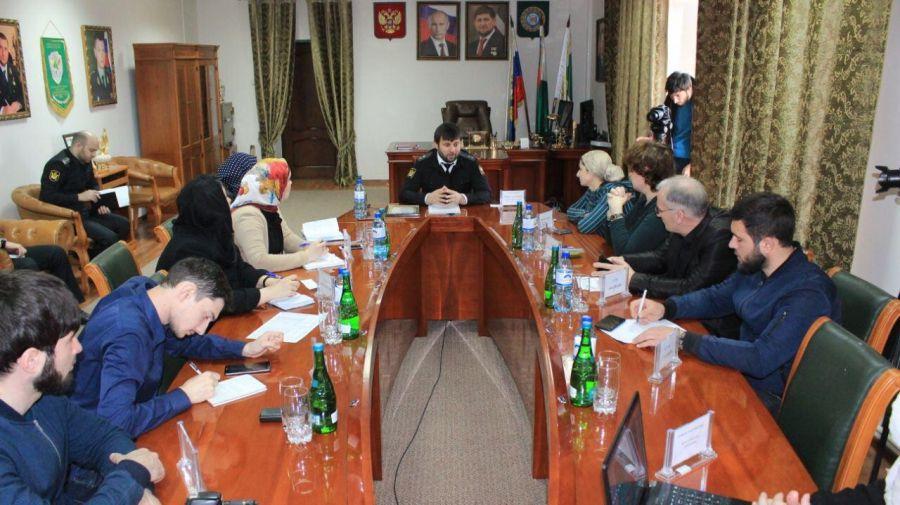 Управление судебных приставов Чечни признано лучшим в России в 2017 году