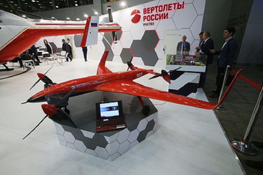 В России начали разрабатывать военные конвертопланы