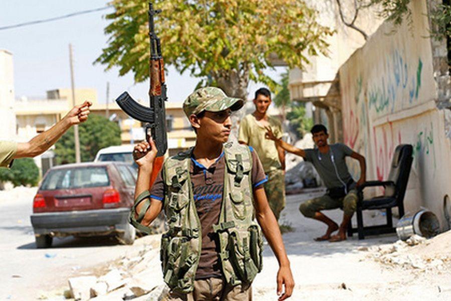Турецкие военные атаковали сирийских курдов