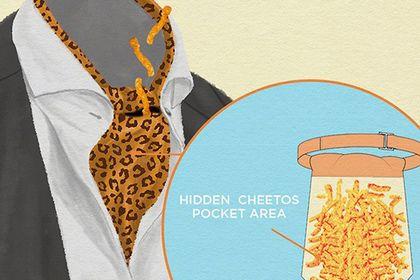 Компания Cheetos разработала коллекцию одежды для хранения чипсов