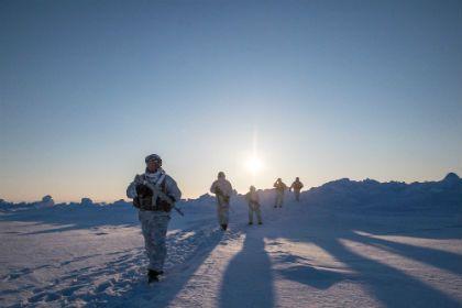 В Арктике стартовали испытания новой российской военной техники
