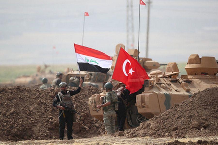 Курды сказали осбитом ими вАфрине турецком вертолете