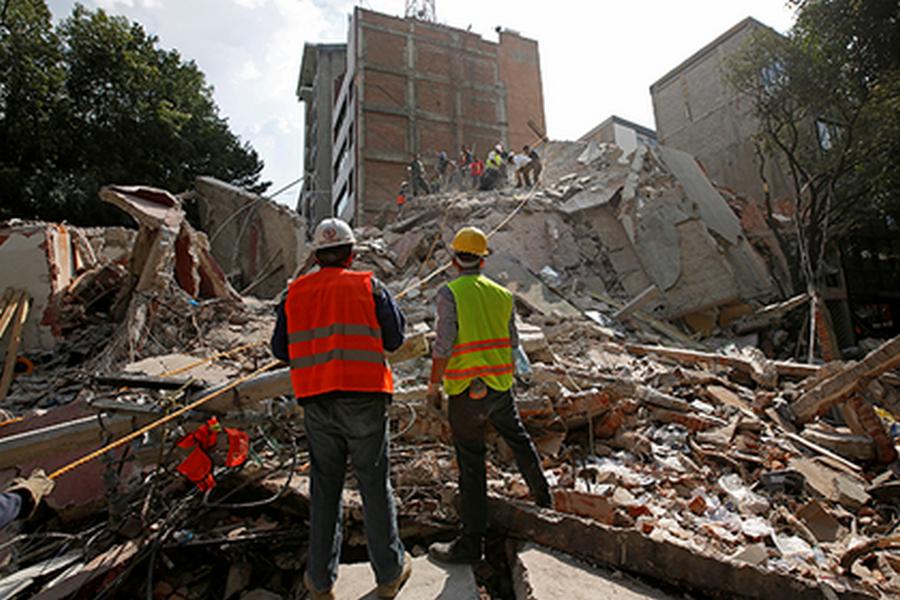 Мексика второй раз за месяц пострадала от землетрясения