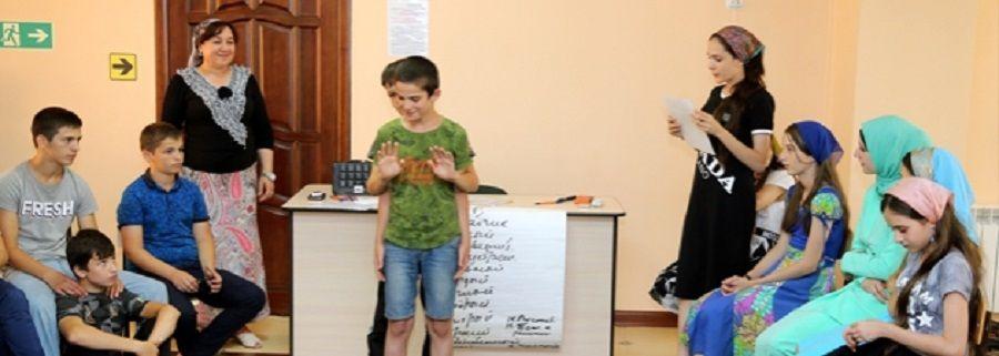 Общественный совет при МВД по ЧР провел тренинг в детском лагере