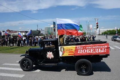 В Грозном состоялась репетиция парада Победы
