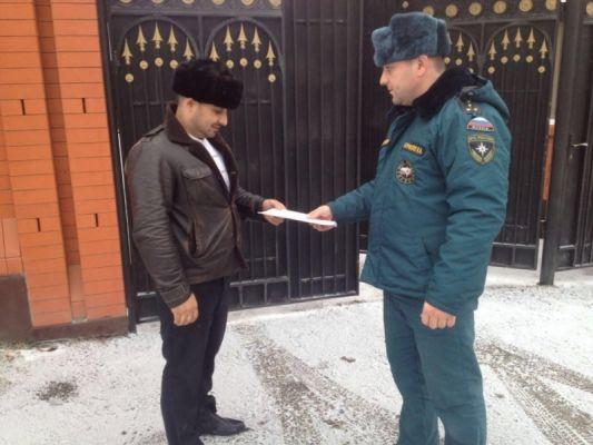 В минувшем году правилам пожарной безопасности обучено около 160 тысяч жителей Чечни