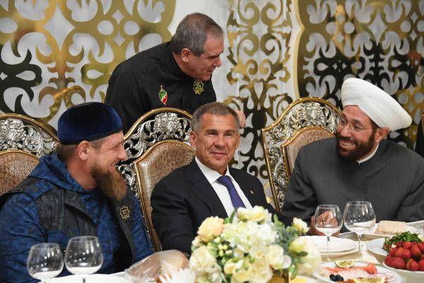 Глава ЧР  встретился  с Президентом Республики Татарстан