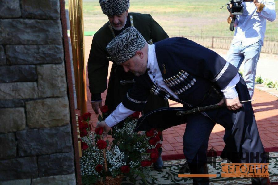 Дань уважения героизму чеченских женщин «Дади-юрта»