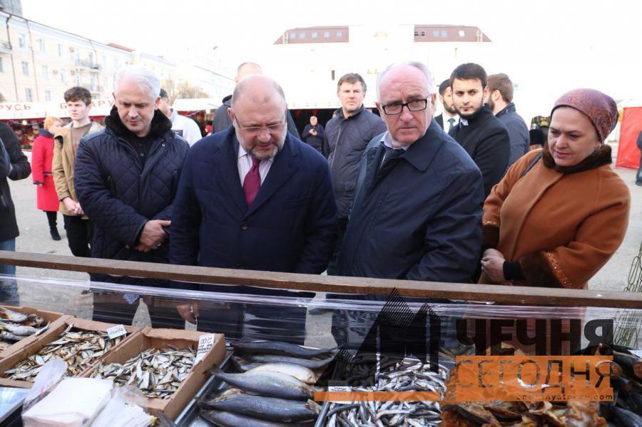 В Грозном открылась «Белорусская Ярмарка»